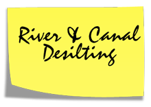 River and Canal Desilting Contractor