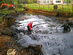 jex plant pumping systems pond desilting