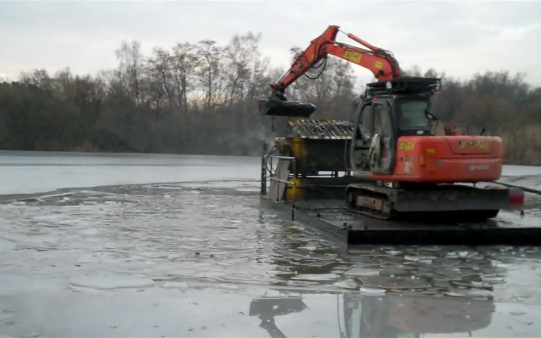 lake desilting at crawley mariners