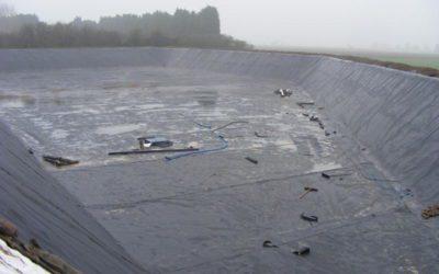 Farm Slurry Lagoon Emptying