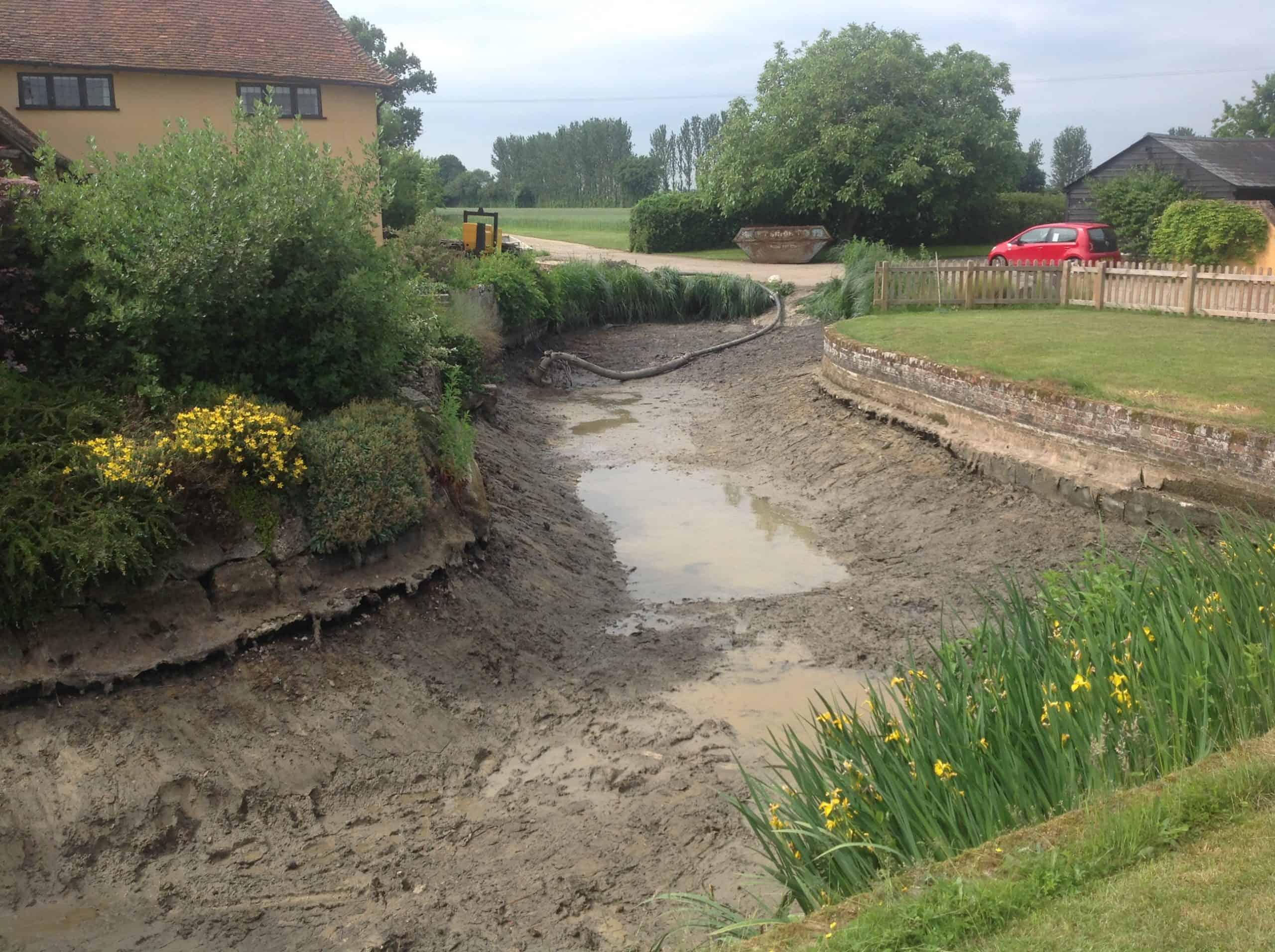 Finished dredging
