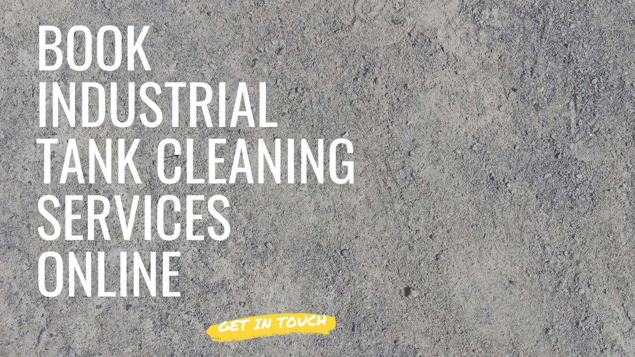 book an industrial tank cleaning online