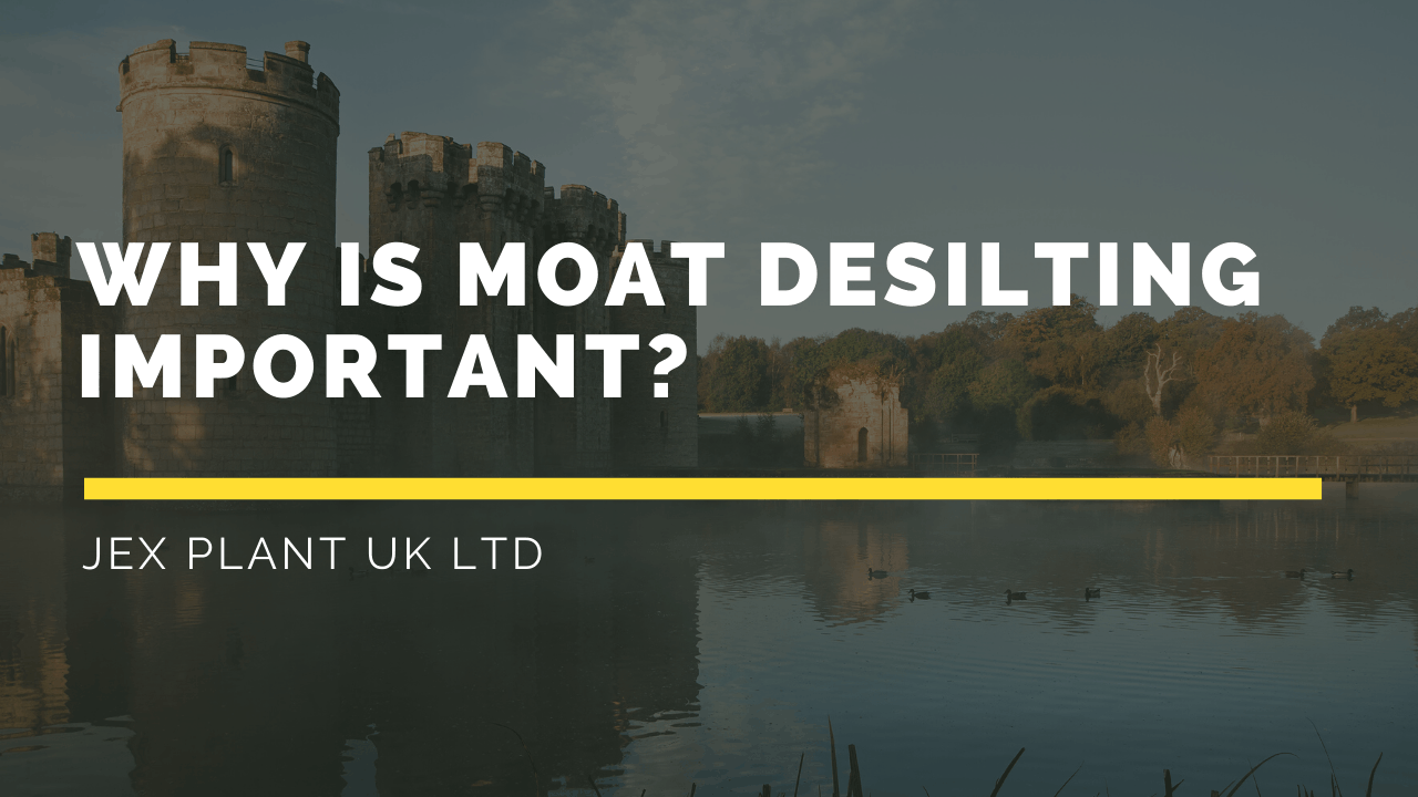 why moat desilting is important