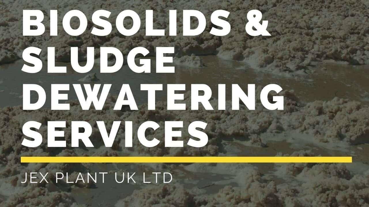 Biosolids and Sludge Dewatering Services UK