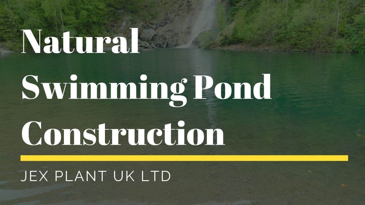 swimming pond construction UK