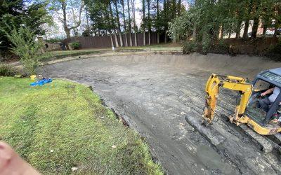 Essex Small Pond Silt Removal
